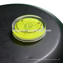 40 x 10mm mini bolhas redondas de nível de bolha