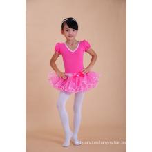 fábrica al por mayor de la moda de los bebés tutú vestido de ballet vestidos niñas bailarina desgaste vestido