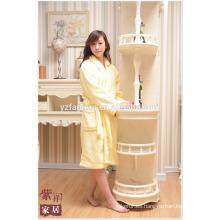 El mejor precio para Hotel Home paño grueso y suave bata de baño para las mujeres