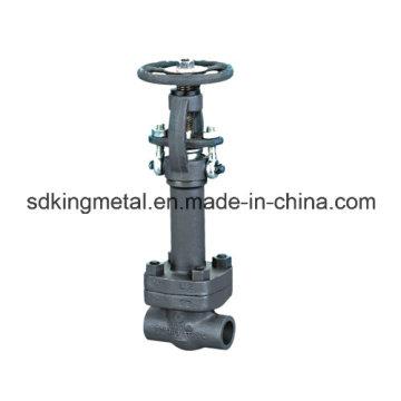 Válvula de compuerta de bronce de acero forjado de 150 libras
