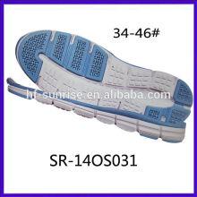 SR-140S031 Nuevo tamaño de los hombres Suela suave eva phylon