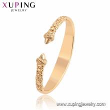 52135 xuping cobre Ambiental mulher de jóias de ouro pulseiras