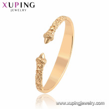 52091 Xuping Jewelry Fashion Special Design Bangles with 18K Gold Plated