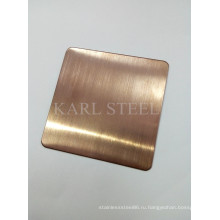 Привет-качества Нержавеющая сталь hairline лист на отделочные материалы