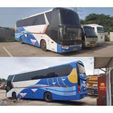 Autobús usado KINGLONG 50 asientos autobús de segunda mano