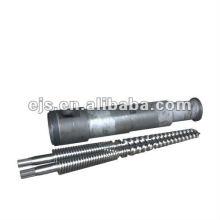 barrel de rosca cônica para extrusora de PVC