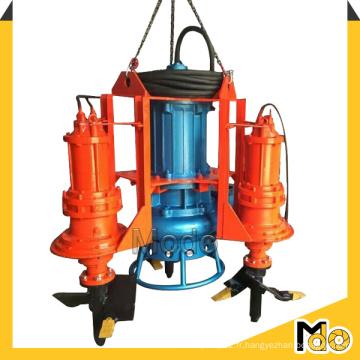 Pompe de boue submersible résistant à l'usure avec agitateur