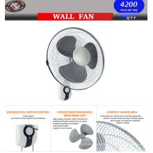 16 '' Wall Fan -Wand Mount oszillierende Ruhige Fan
