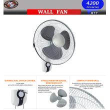 Ventilador de parede de 16 '' - Montagem de parede Oscilante Ventilador silencioso