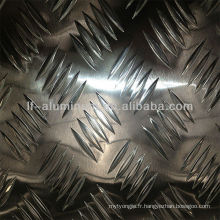 6083 Plaque de tôle en alliage d'aluminium 6mm