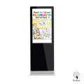 Quadro de avisos digital de 49 polegadas para a escola