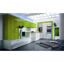 Gabinetes de cocina modernos de diseño MDF Moderno