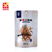 Aluminum Pouch Stand Up Bag For Seafood Packaging