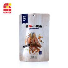 La poche en aluminium tient le sac pour l'emballage de fruits de mer