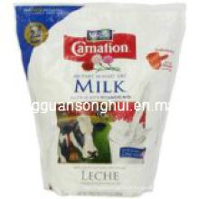 Saco de empacotamento plástico do pó de leite / malote pó de leite / saco de empacotamento do pó