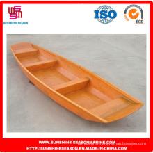 Bateau de pêche en fibre de verre pour la pêche / bateau à moteur en fibre de verre attrayant (SFG-13)
