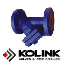 Фланцевый дизайн Y фильтр из нержавеющей стали, углеродистая сталь