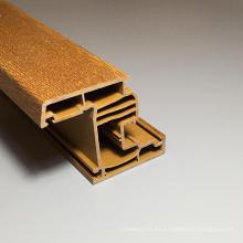 Perfil de puerta y ventana de PVC de buena calidad