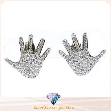 Hand Form Ohrring für Dame China Großhandel Fashionjewelry 925 Sterling Silber Schmuck Ohrring (E6504)