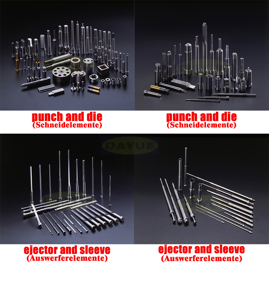 Mold Components Punches And Dies Ejector And Sleeve