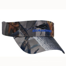 Camouflage Sun Visor Hunting Cap with Logo Embroidery (GKA12-A0006)