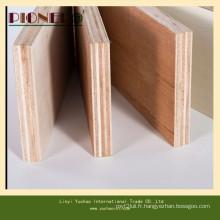 Carb P2 blanc blanchi contreplaqué commercial de peuplier pour des meubles en bois