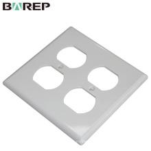 Ménage et éclairage application GFCI plastique 125V 15A plaque de commutation