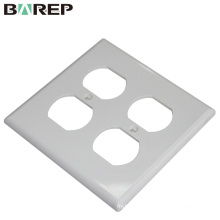 Household and lighting application GFCI plastic 125V 15A switch plate