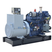 24kw 33HP China Weichai Engine D226B-3CD Small Marine Generator  With CCS Certificate for Fishing Trawler