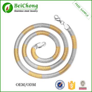 Fashion Colorful Necklace Chains Bulk
