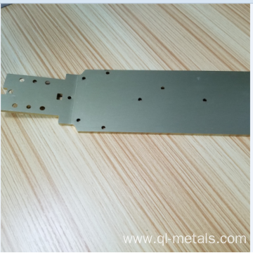 1.0mm Aluminum Sheet Metal with Brushing/Anodizing
