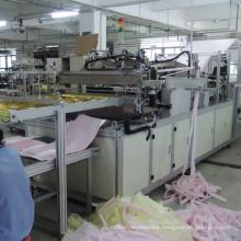 Nonwoven synthetic fiber medium efficiency bag filter machine