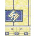Завод Оптовая дешевые и прочные ПВХ печатных скатерть с Затыловкой фланели