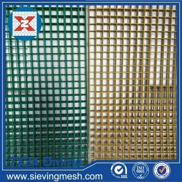 Wire Mesh Welded Coated PVC berwarna-warni