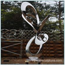 Garden Art Ornament Abstract Stainless Steel Sculpture