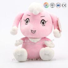 OEM / ODM personalizado recheado pequeno cantar hipopótamo brinquedo de pelúcia