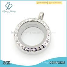 Антикварные серебряные медальон подвеска ювелирные изделия, нержавеющая сталь монеты диска медальон подвеска ювелирные изделия