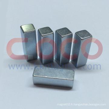 Matériaux magnétiques néodyme superbe pour les pièces automobiles