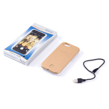 Popular Phone Case for iPhone with LED Flash Light Selfie