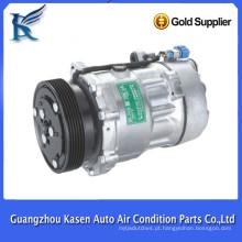 Compressor do condicionador de ar do carro novo do modelo 7V16 12v PARA VW