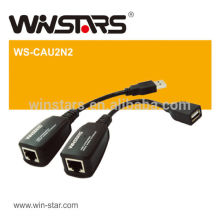 USB ethernet extension lan adapter.USB Extension cable,Uses standard Cat5/Cat5E/Cat6 patch cord