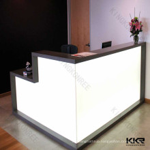solid surface translucent countertop, light decoration countertop