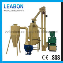 China Portable Biomassa planta de pellets de madera