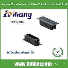 SC Duplex adapter lid / adapter cap / panel lid