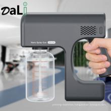 New Hot Selling Nano Mist Sprayer Sanitizer Machine Handheld Atomizer Office Garden Spray Gun Cordless Electric Fogger