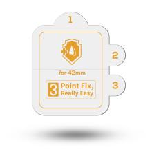Apple watch full body screen protector tpu film