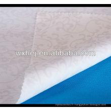 vente chaude et bas prix blanc uni 100% coton tissu de lin