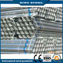 Tubo / tubería de acero al carbono EN 10219 y ASTM A500 ERW