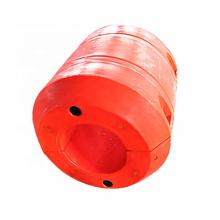 Flotador plástico del flotador del tubo del polythen del equipo auxiliar de la tubería para el tubo del hdpe