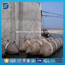 High Pressure Anti Explosion Rubber Sunken Ship Salvage Airbag